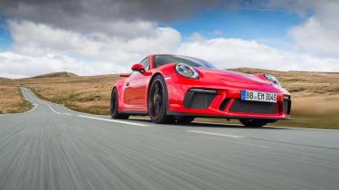 Porsche 911 GT3 - front action