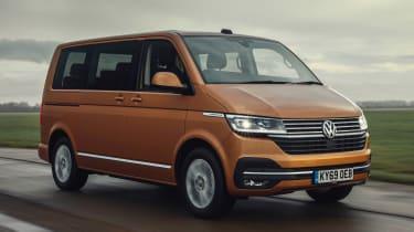 Volkswagen Caravelle - front
