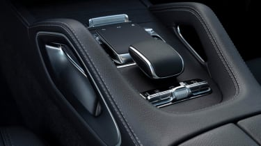 Mercedes GLC 400 d Coupe - gear selector