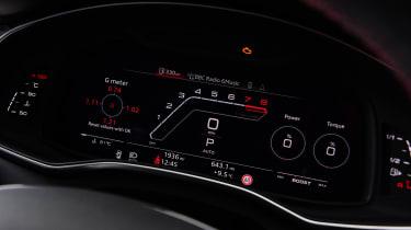 Audi RS 6 - dials