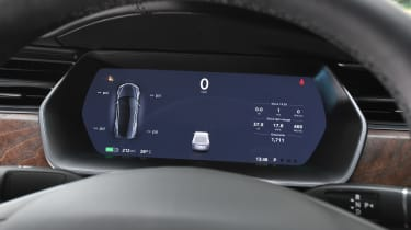 Tesla Model S Long Range - dials