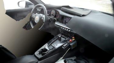 Porsche 911 spy interior