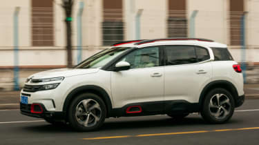 Citroen C5 Aircross - front action