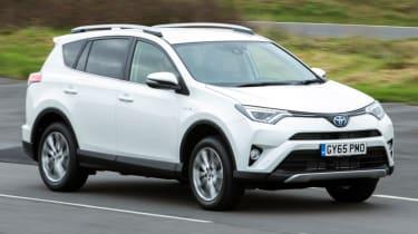 Toyota RAV4 white front