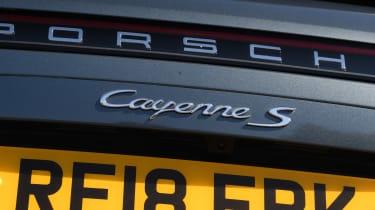Porsche Cayenne S - Cayenne S badge