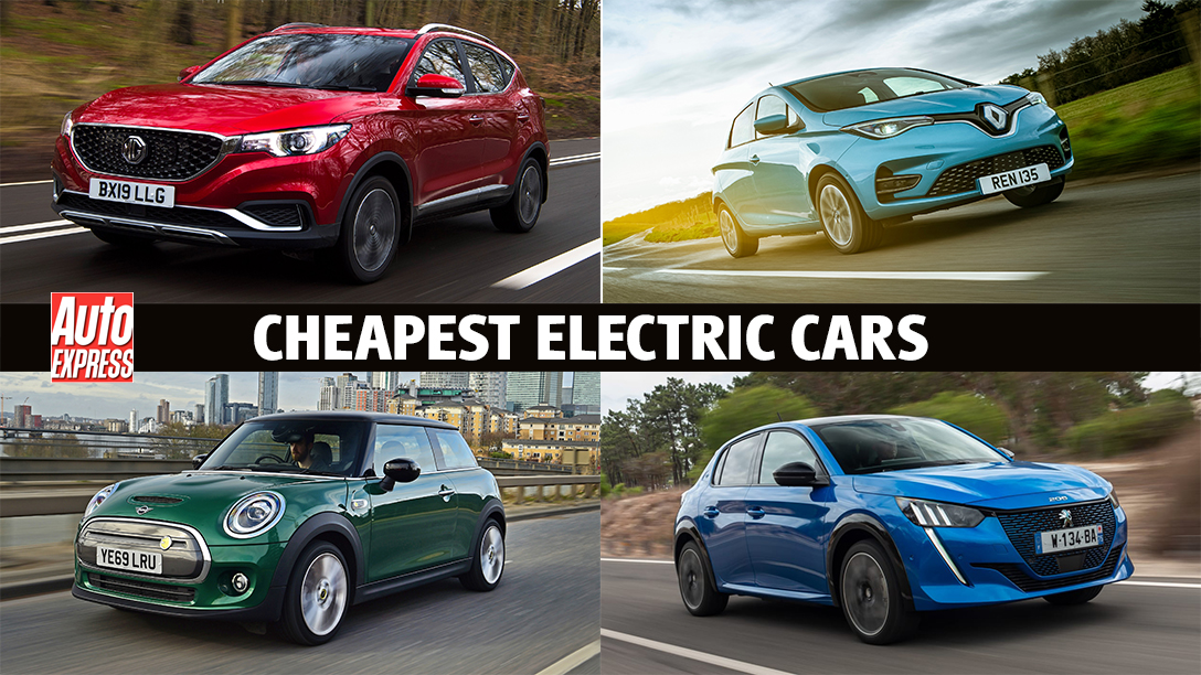 The Cheapest Electric Cars On Sale Auto Express