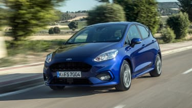 Ford Fiesta ST-Line - front tracking