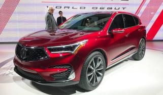 Acura RDX Prototype - Detroit front