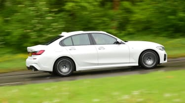 BMW 3 Series long termer - first report side