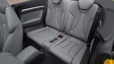 Audi A3 Cabriolet - rear seats
