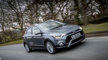 Hyundai i20 Active 2016 - front tracking