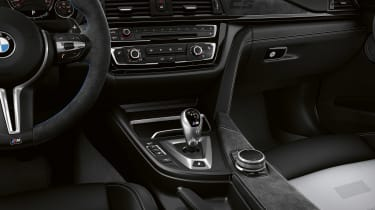 BMW M3 CS - centre console