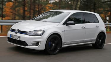 Volkswagen Golf GTE Performance prototype - front