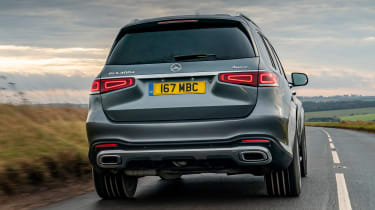 Mercedes GLS - rear