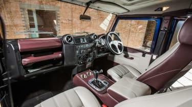 Land Rover Defender Zulu interior