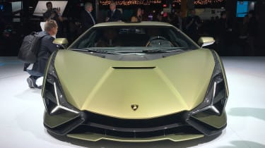 Lamborghini Sian revealed at Frankfurt Motor Show 2019