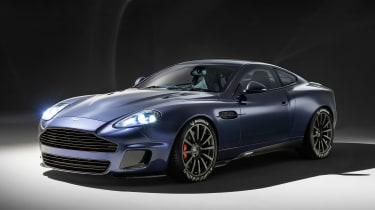 Aston Martin Vanquish by Callum - front static