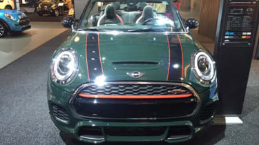 MINI John Cooper Works Convertible - New York front