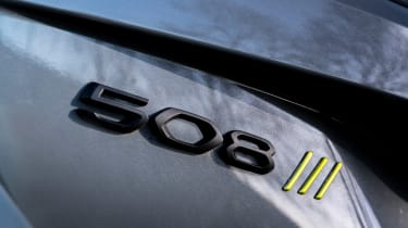 Peugeot 508 Sport Engineered - 508 badge