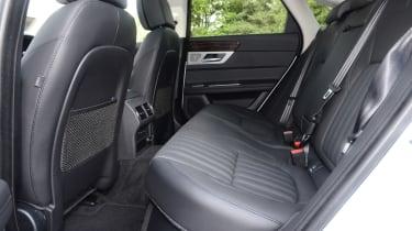 Jaguar XF 25d - rear seats
