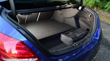 Mercedes C 350e plug-in hybrid - boot