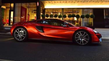 McLaren 570GT long term test final report - side profile