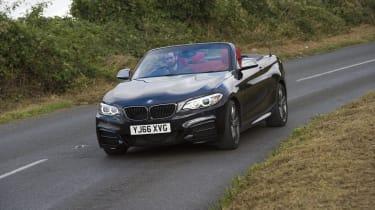 BMW M240i Convertible corner