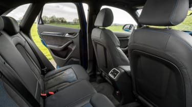 Audi RS Q3 Performance 2016 - rear seats
