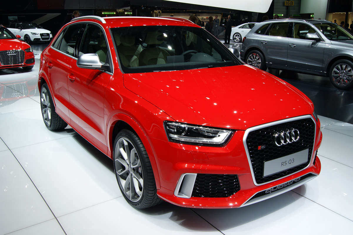 Audi Rs Q3 Revealed Auto Express