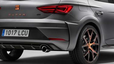 SEAT Leon Cupra R - rear detail