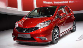 New Nissan Note front three-quarters