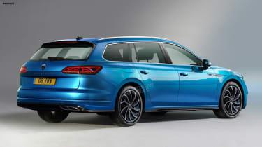 Volkswagen Passat Estate - rear (watermarked)