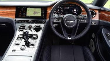 2018 Bentley Continental GT - interior