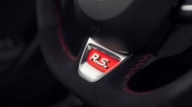 Renault Megane R.S. - steering wheel detail