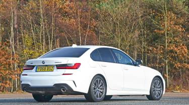 BMW 3 Series - rear static