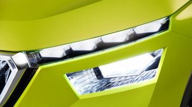 Skoda Vision X concept - fog light