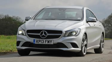 Used Mercedes CLA - front action