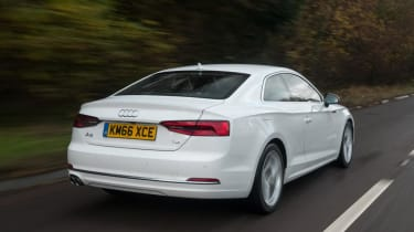 Audi A5 Coupe - rear