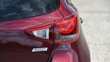 Mazda 2 - taillight