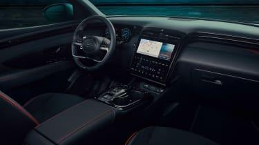 Hyundai Tuscon N Line - cabin