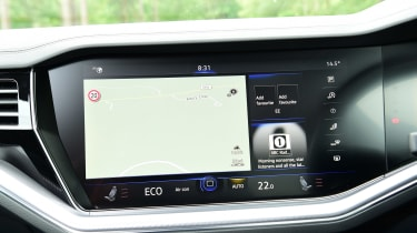 Volkswagen Touareg long termer - first report sat-nav