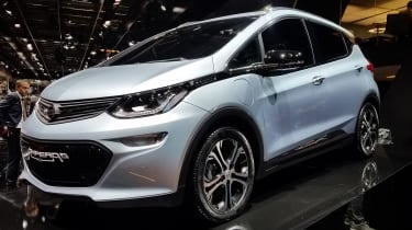 Opel Ampera-e - Paris front three quarter