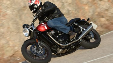 Triumph Street Twin review - side action