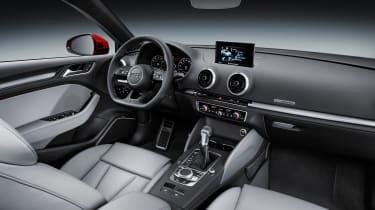 Audi A3 facelift - interior