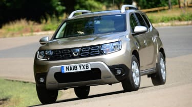 Dacia Duster - front action