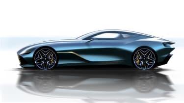 Aston Martin DBS GT Zagato side