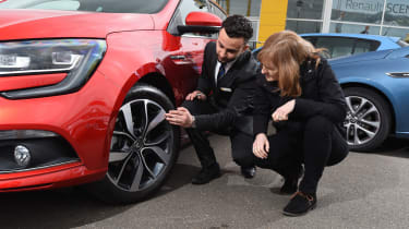 Renault Megane long term test - first report wheel detail