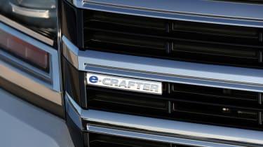 Volkswagen e-Crafter badge