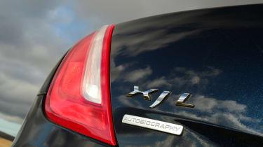Jaguar XJ - badge detail