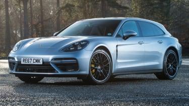 Porsche Panamera Sport Turismo static front